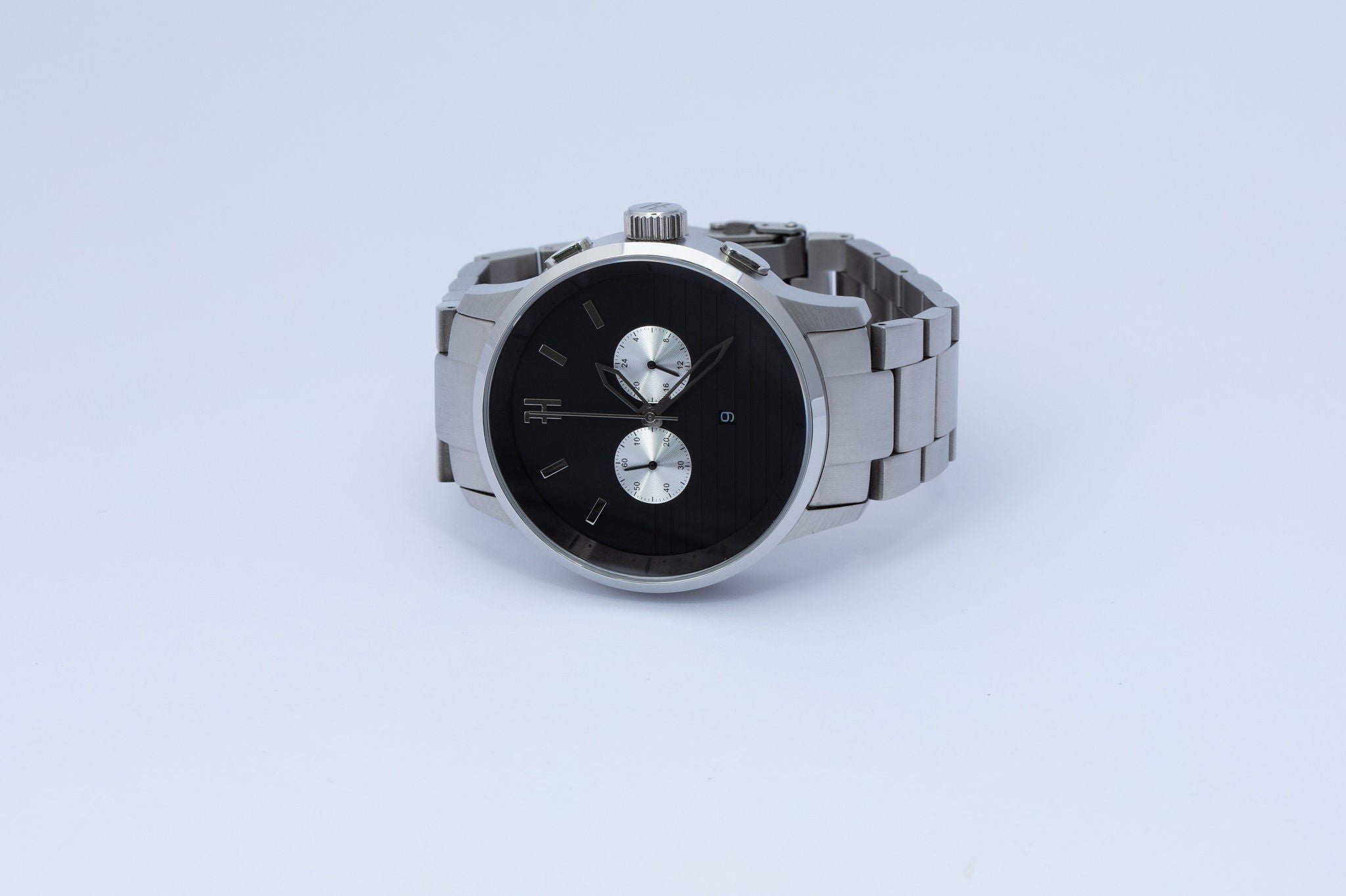 THE MC - SILVER MENS WATCH
