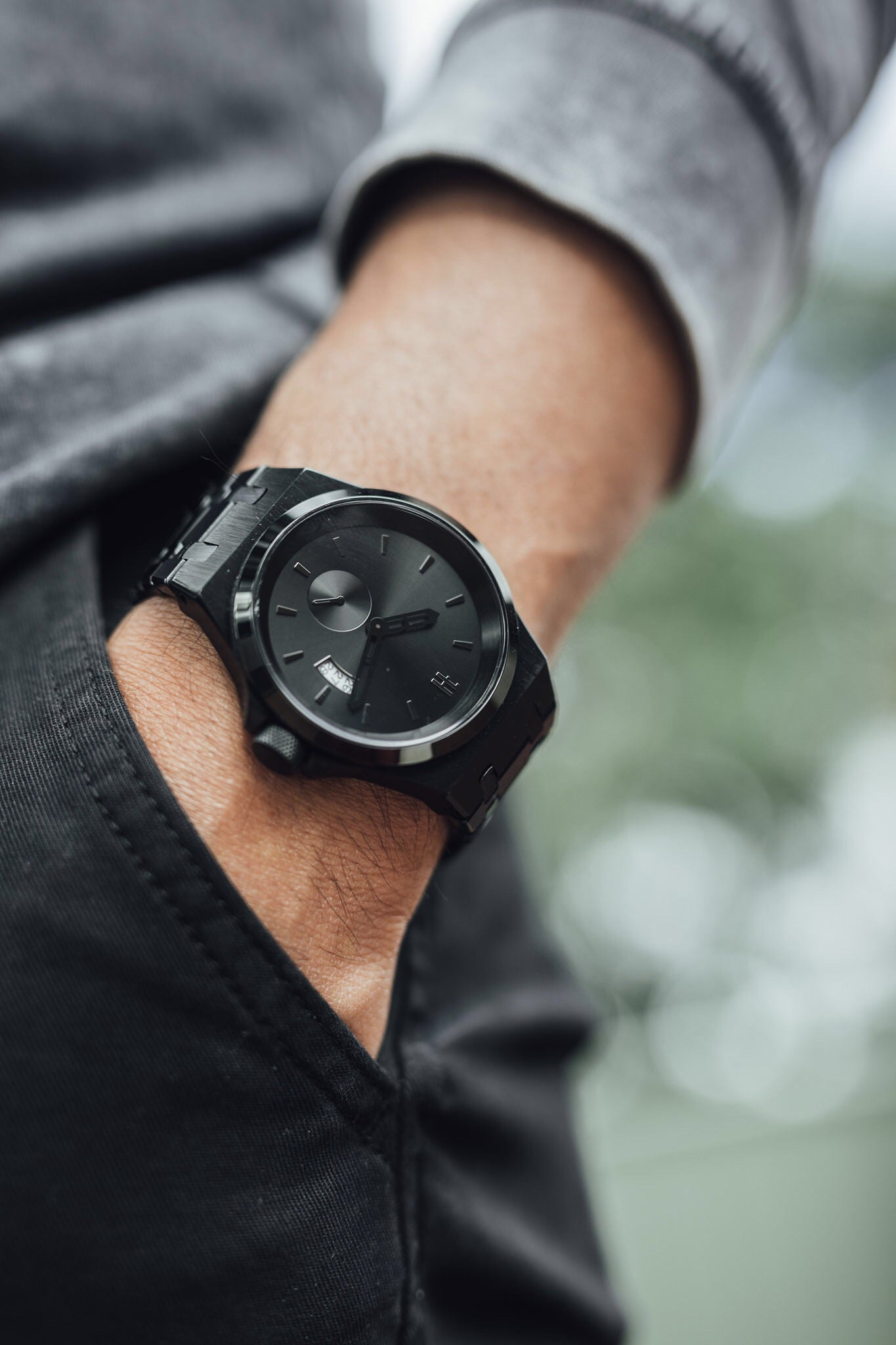 THE ACE - BLACK MENS WATCH