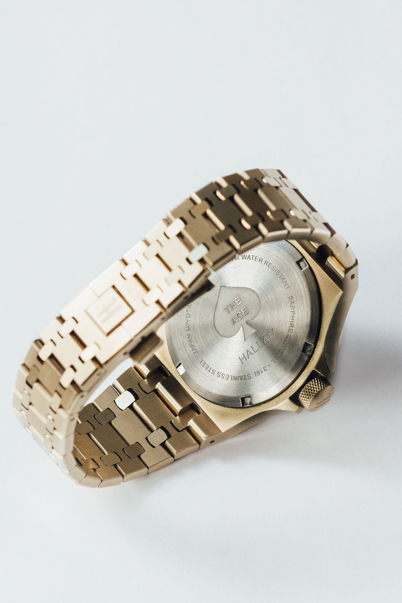 THE ACE - GOLD MENS WATCH