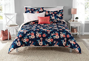Poly-Cotton 5pc Comforter Set