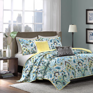 Microfiber 5pc Bedspread set