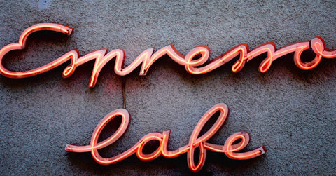 Espresso Cafe Neon Sign