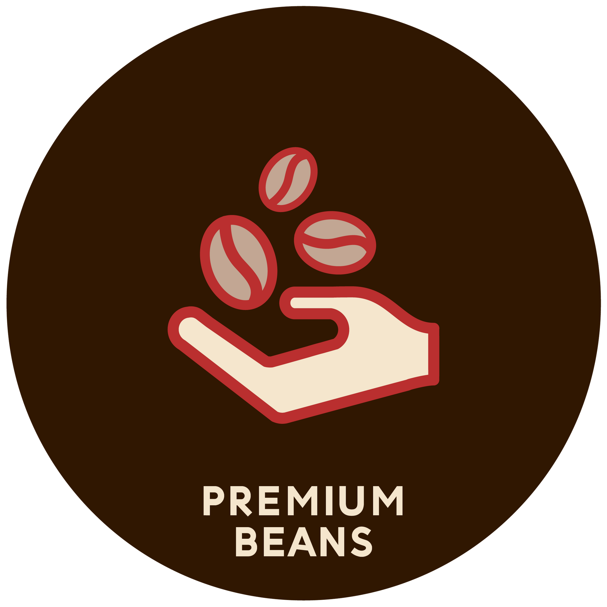 Espresso Canada logo showing they carry premium Caffé Nostro Beans specifically roasted for use in superautomatic espresso machines