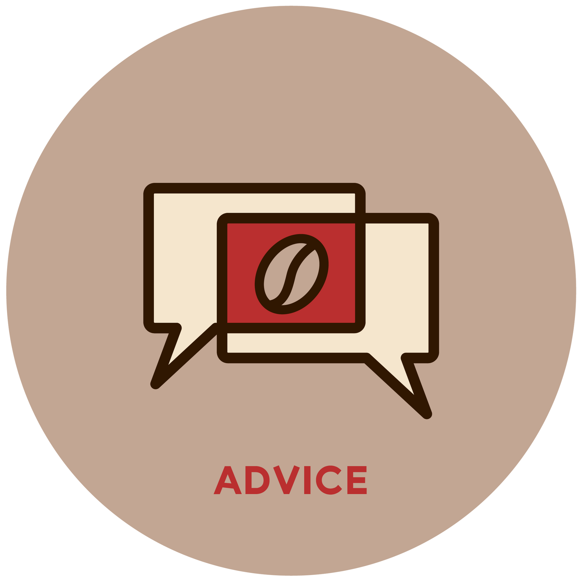 Espresso Canada logo showing they can offer advice when purchasing an espresso machine
