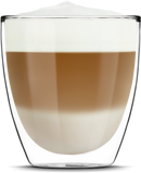 Cappuccino made with Saeco Superautomatic Espresso Machine by Espresso Canada