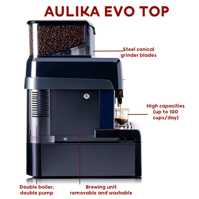 Saeco Aulika Evo Top Coffee Machine RIHSC