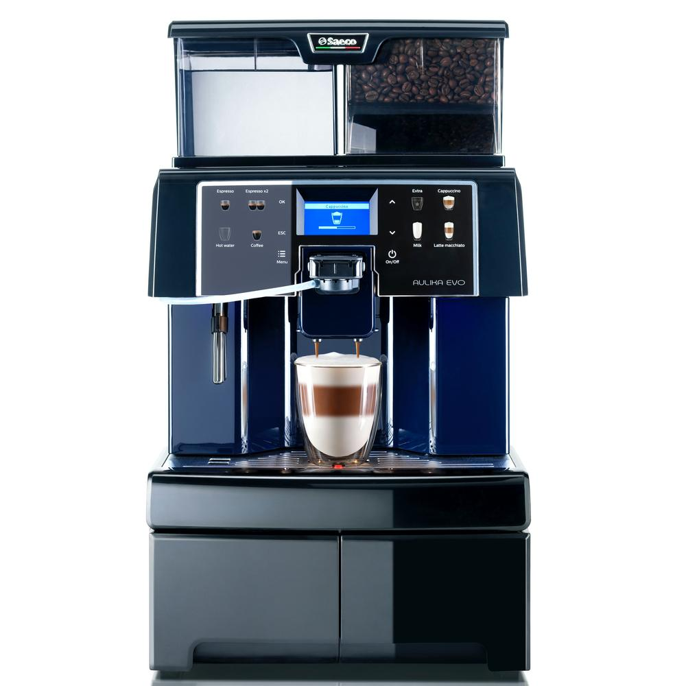 Saeco Aulika Evo Top Superautomatic Coffee Machine RIHSC Front View