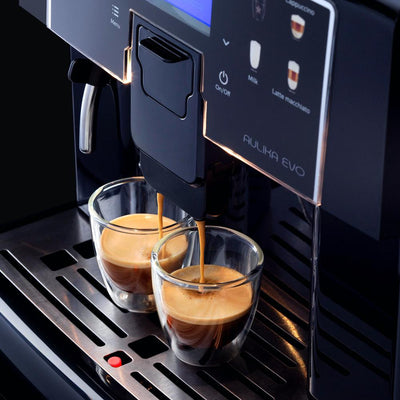 Saeco Aulika Evo Top Superautomatic Coffee Machine RIHSC Display