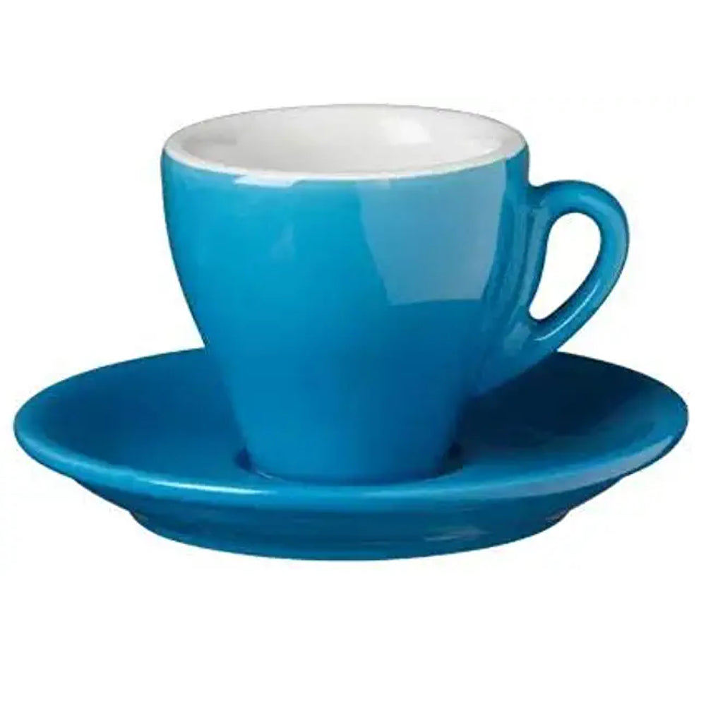 Blue Nuova Point Espresso Cup in Blue available at Espresso Canada