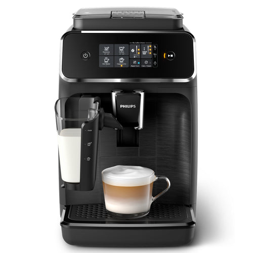 Philips Saeco 2200 Series Espresso Machine LatteGo Black EP2230/14