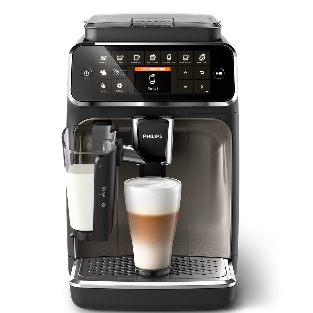 Philips Saeco EP4347/94 Front View available at Espresso Canada