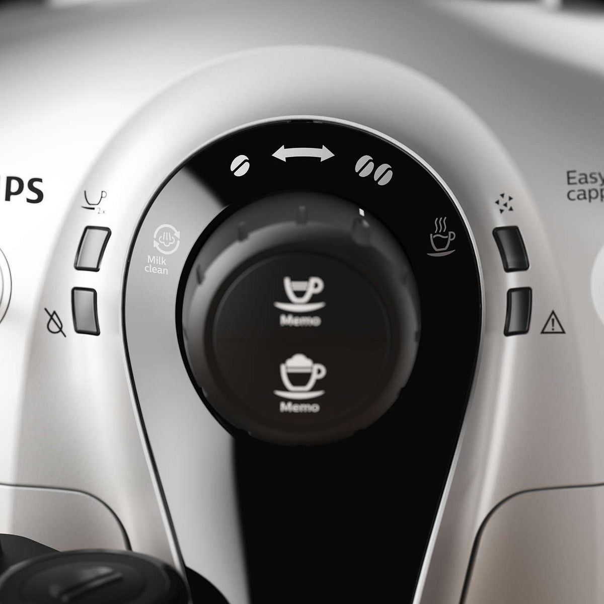 Philips 2100 HD8952 Close up of coffee Aroma Selector