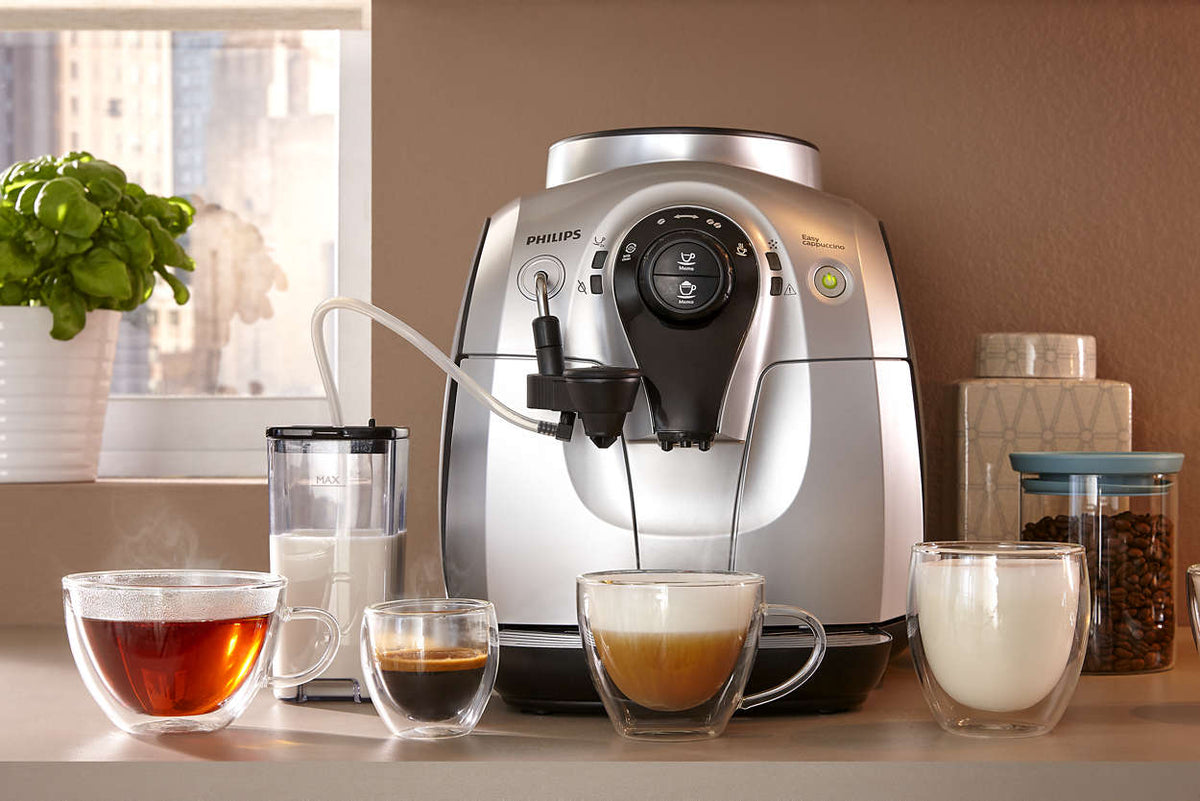 Philips 2100 HD8952 coffee options