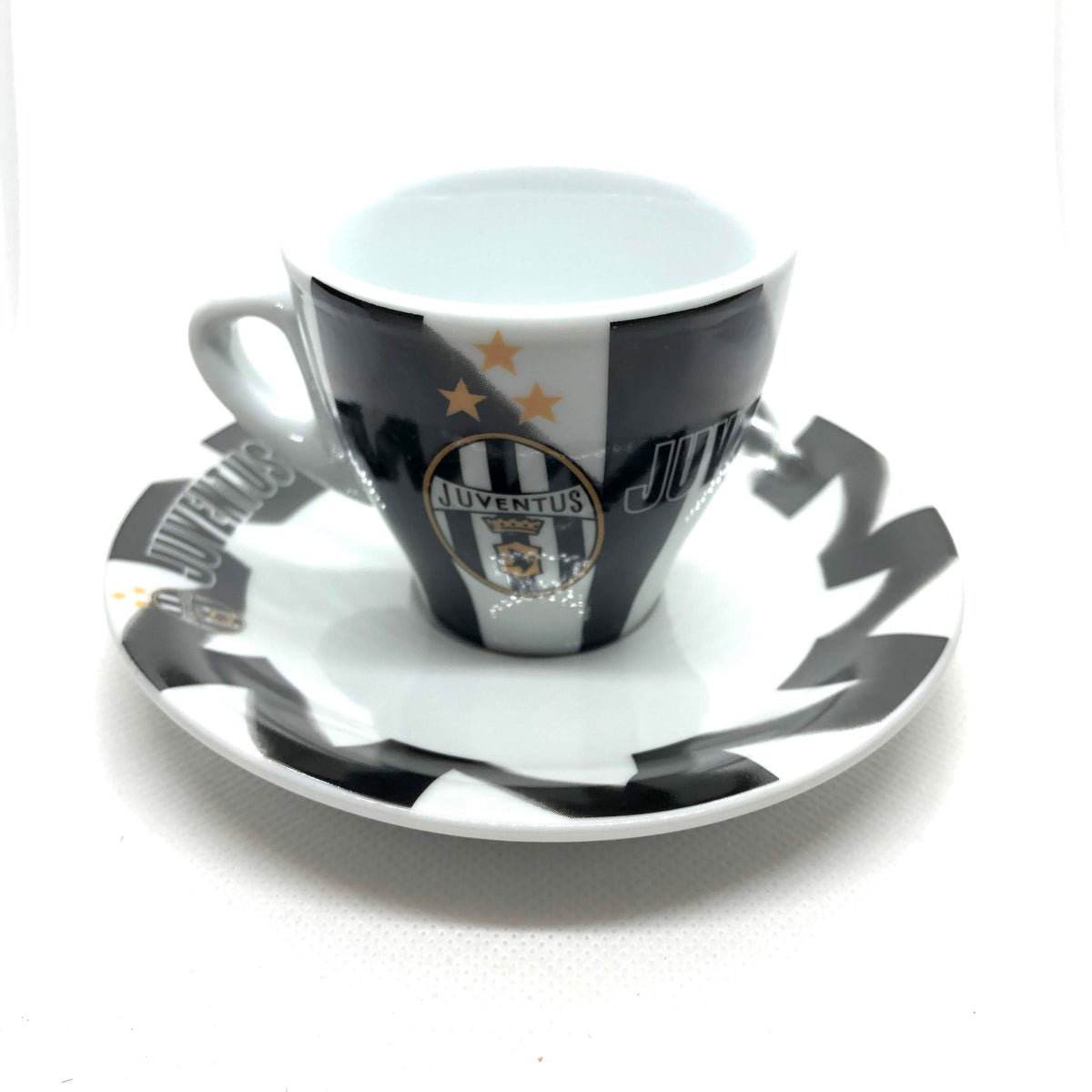 Serie A Italian Soccer Inter Espresso Cup and Saucer