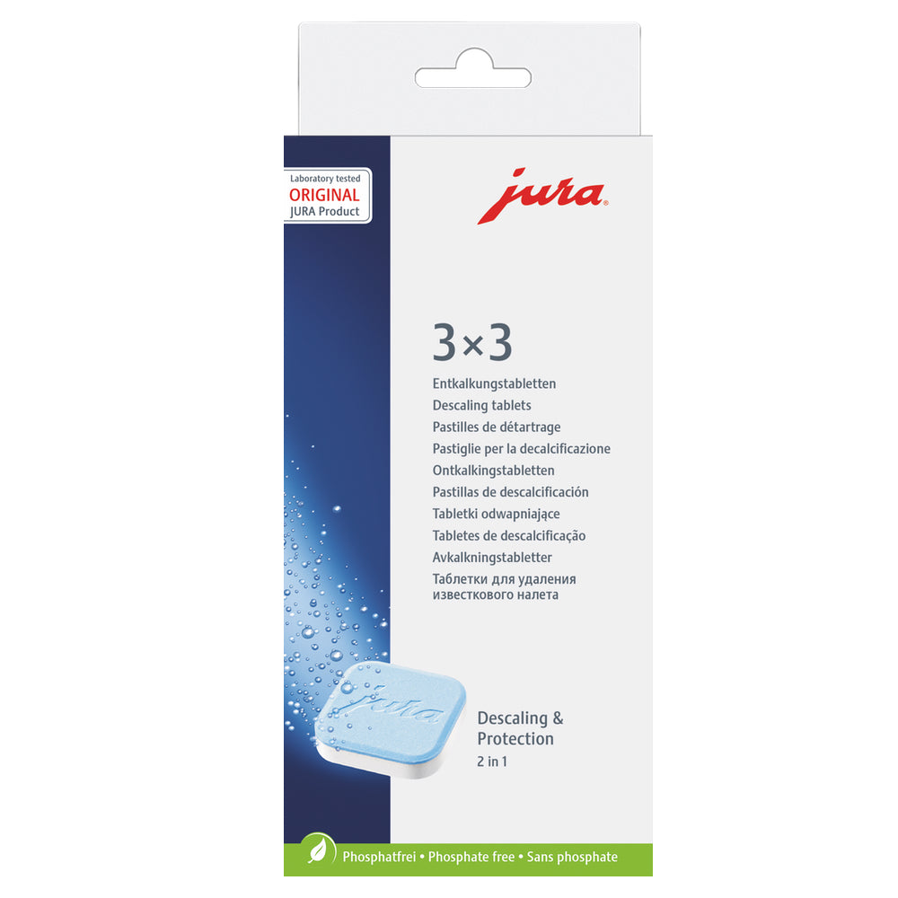 JURA Cleaning Tablets 3 pack  Item 61848 available from Espresso Canada