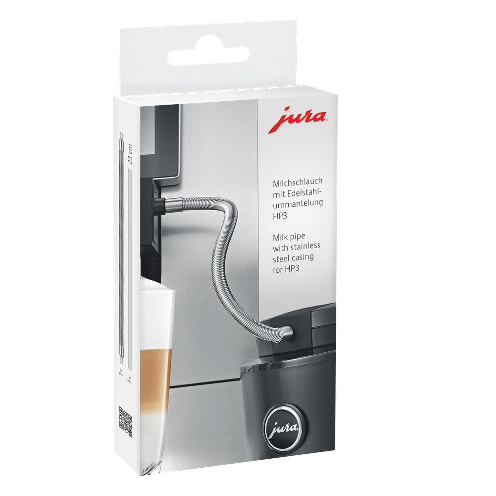 JURA Milk Pipe With Stainless Steel Casing for HP# 24114 available from Espresso Canada