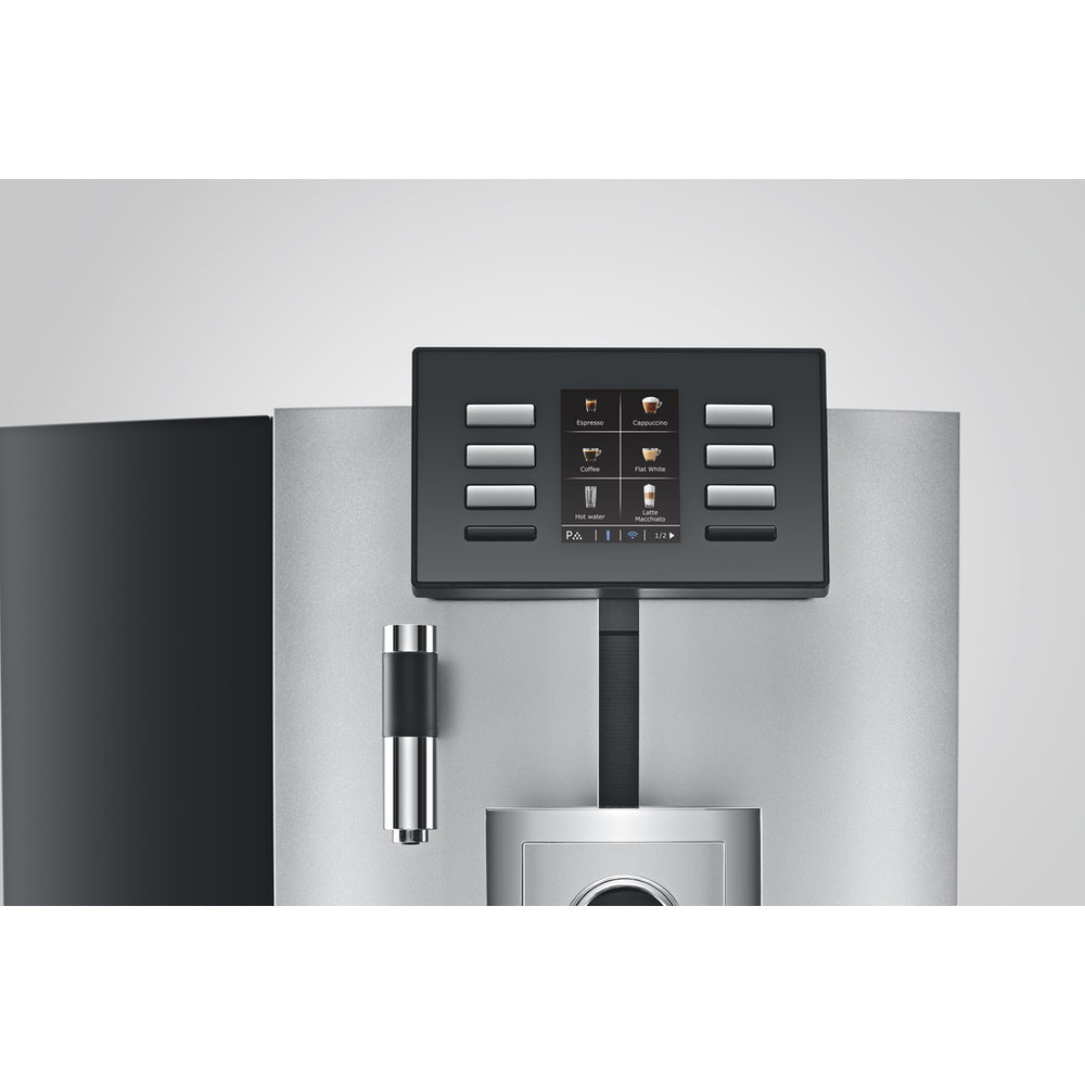Jura X8 Front Panel Beverage Selection