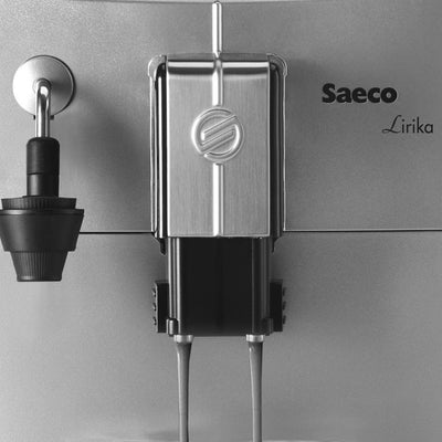 Close up of Automatic Milk Foamer on a Saeco Lirika Espresso Machine