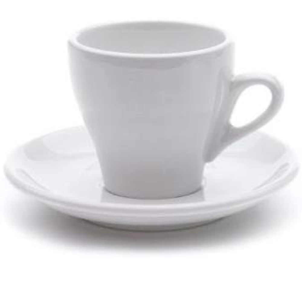 White Nuova Point Cappuccino Cup⎮Made In Italy⎮Milano Syle