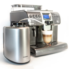 Saeco Royal Professional with Waeco Milk Cooler