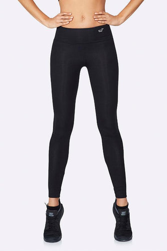 Boody Organic Eco Wear Women's Full Length Active Tights Black
