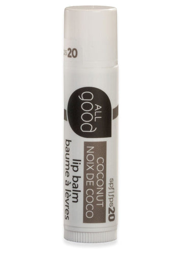 All Good Lips – Coconut SPF 20 Lip Balm