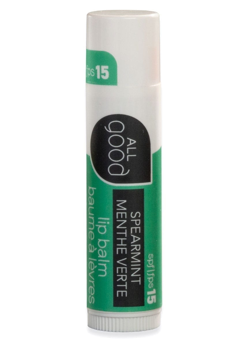 All Good Lips SPF 15 Lip Balm – Spearmint