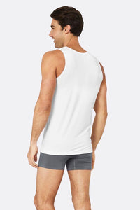 Boody Organic Bamboo Eco Wear - Men's Singlet White
