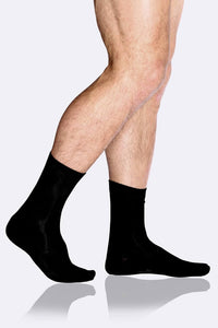Men's Black Business Socks - Boody Organic Bamboo Eco Wear