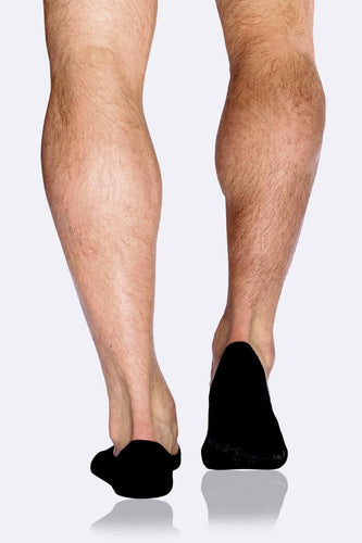 Men's Hidden Black Socks - Boody Organic Bamboo Eco Wear
