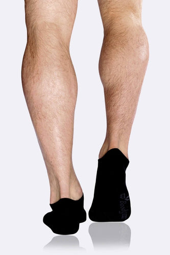 Boody Organic Eco Wear Men's Low Cut Socks - Black