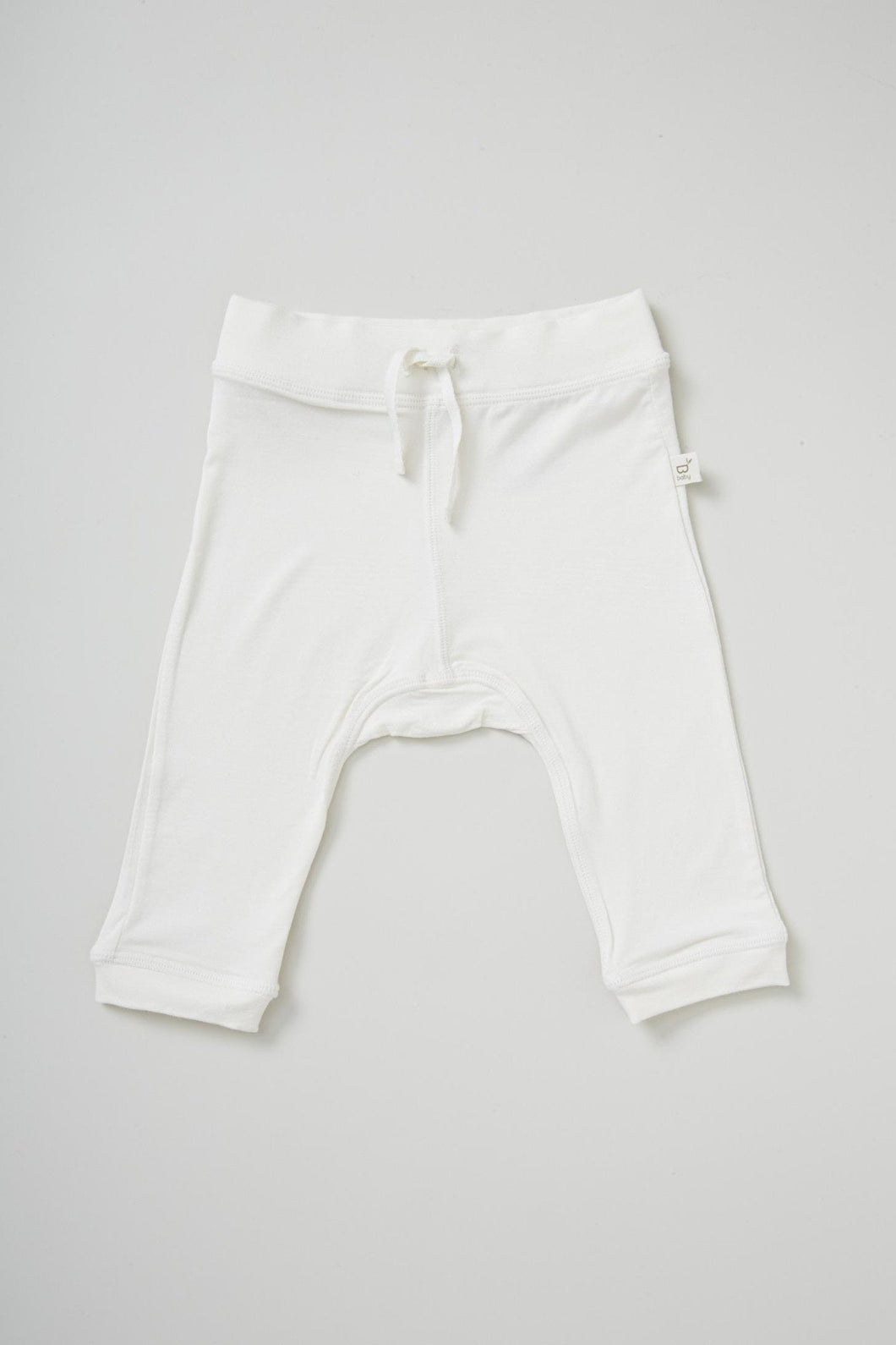 Baby Pull on Pants Neutral - Organic Bamboo Eco Wear