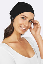 Load image into Gallery viewer, Boody Organic Bamboo Eco Wear Black Beanie