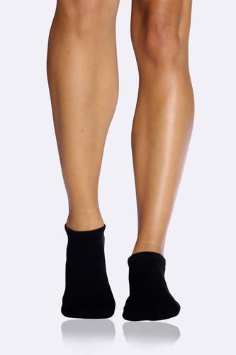 Boody Organic Bamboo Eco Wear Women's Sports Ankle Socks Black