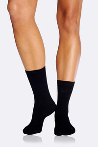 Women's Black Everyday Sock - Boody Organic Bamboo Eco Wear