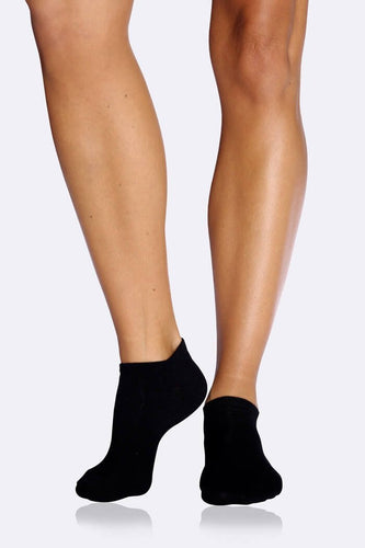 Boody Organic Bamboo Eco Wear Women's Low Cut Socks Black