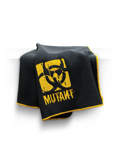 MUTANT Microfiber Black Bench Towel - MUTANT