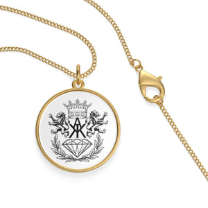 K.A.K Logo Single Loop Necklace
