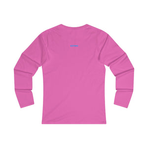 LVU Women's Fitted Long Sleeve Tee