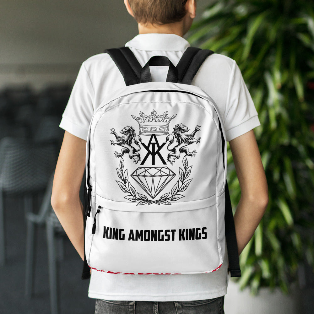K.A.K Logo Print Backpack