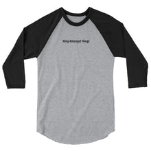 Load image into Gallery viewer, K.A.K 3/4 sleeve raglan shirt