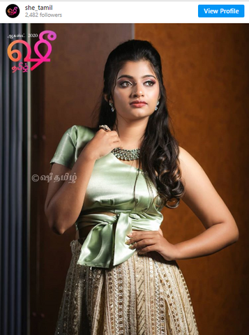 VJ Archana Seen On Ishhaara
