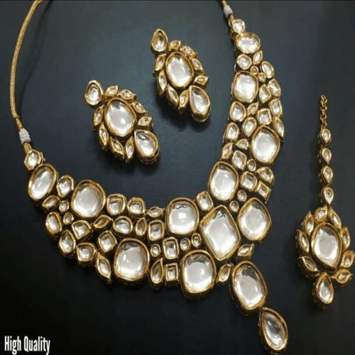 Kundan Necklace - Ishhaara