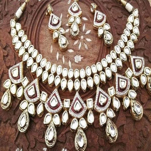 AD Kundan Necklace