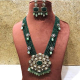 Ad Patchi Stone Pendant Necklace - Ishhaara