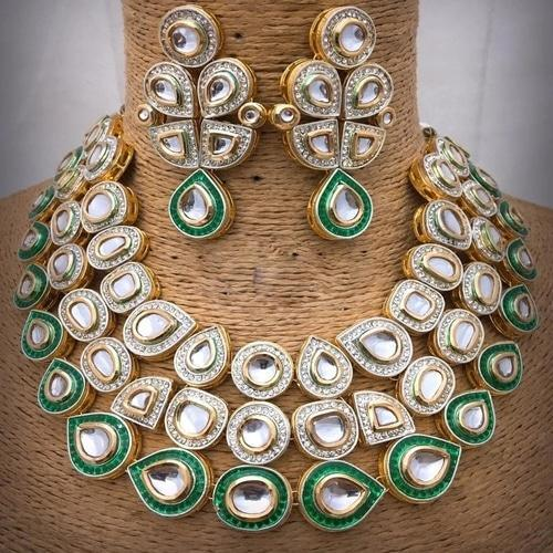 Adstract AD Kundan Necklace