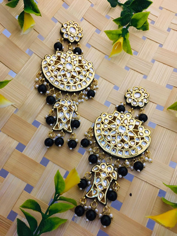 Almost Round Chandbali Earring