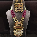 Antique Baraat Dooli Pendant Set