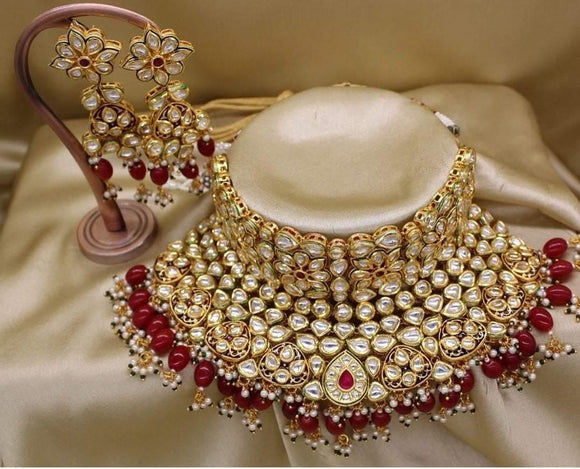 Big Bridal Kundan Set - Ishhaara