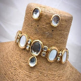 Big Kundan Simple Choker